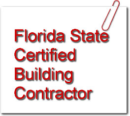 Florida State Certified Building Contractor
