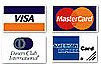 KB Builders Inc accepts visa mastercard and american express